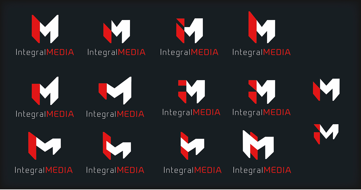 Integral MEDIA - Logotype research